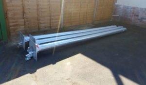 galvanised cctv poles