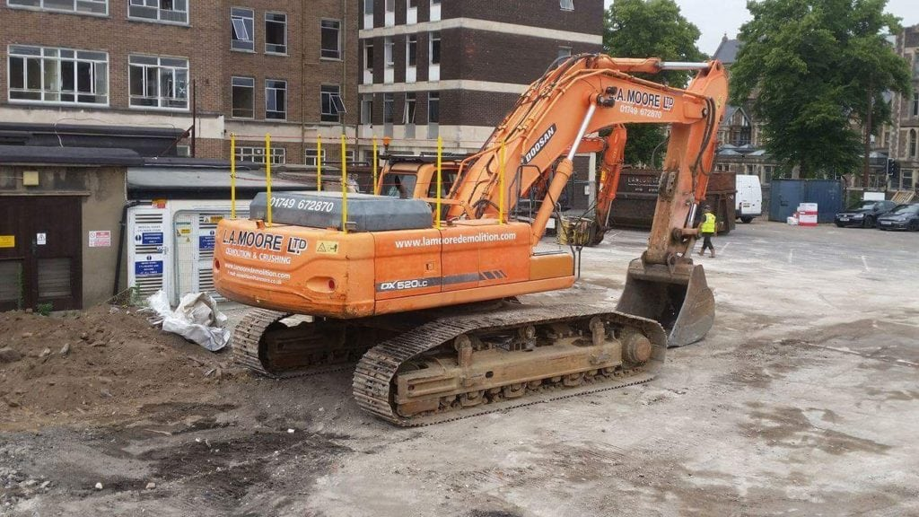 mobile welder excavator health and safety