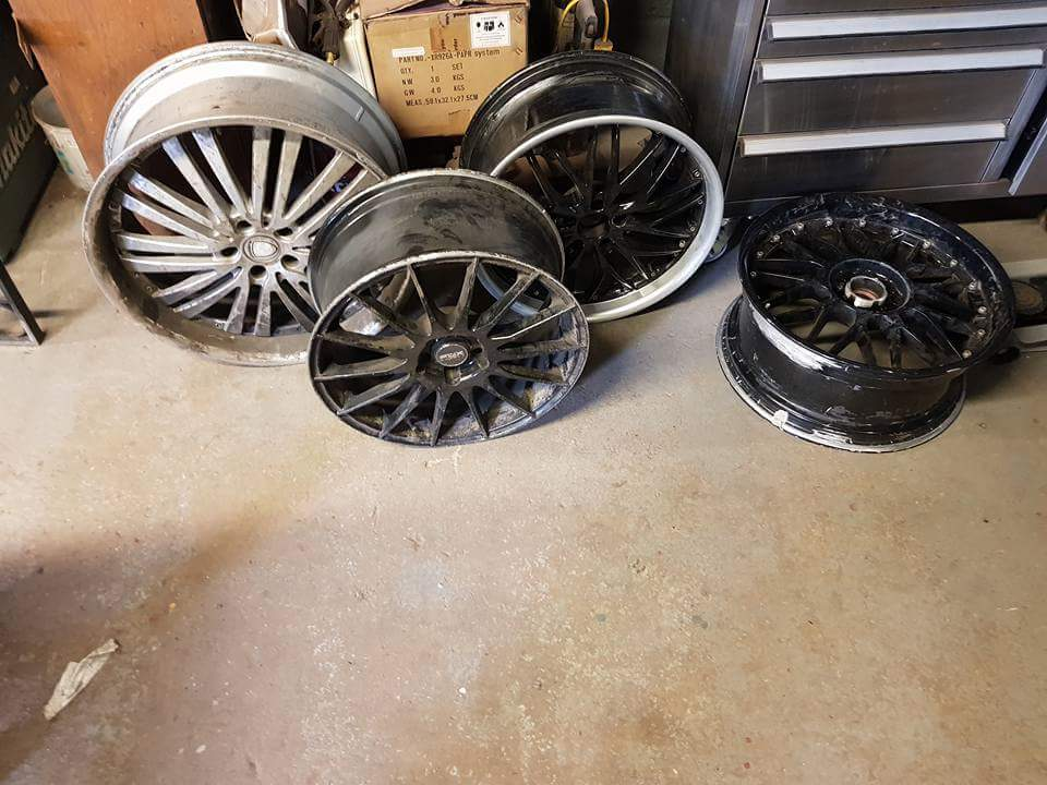 Alloy Wheel Repairs in Glastonbury, Somerset