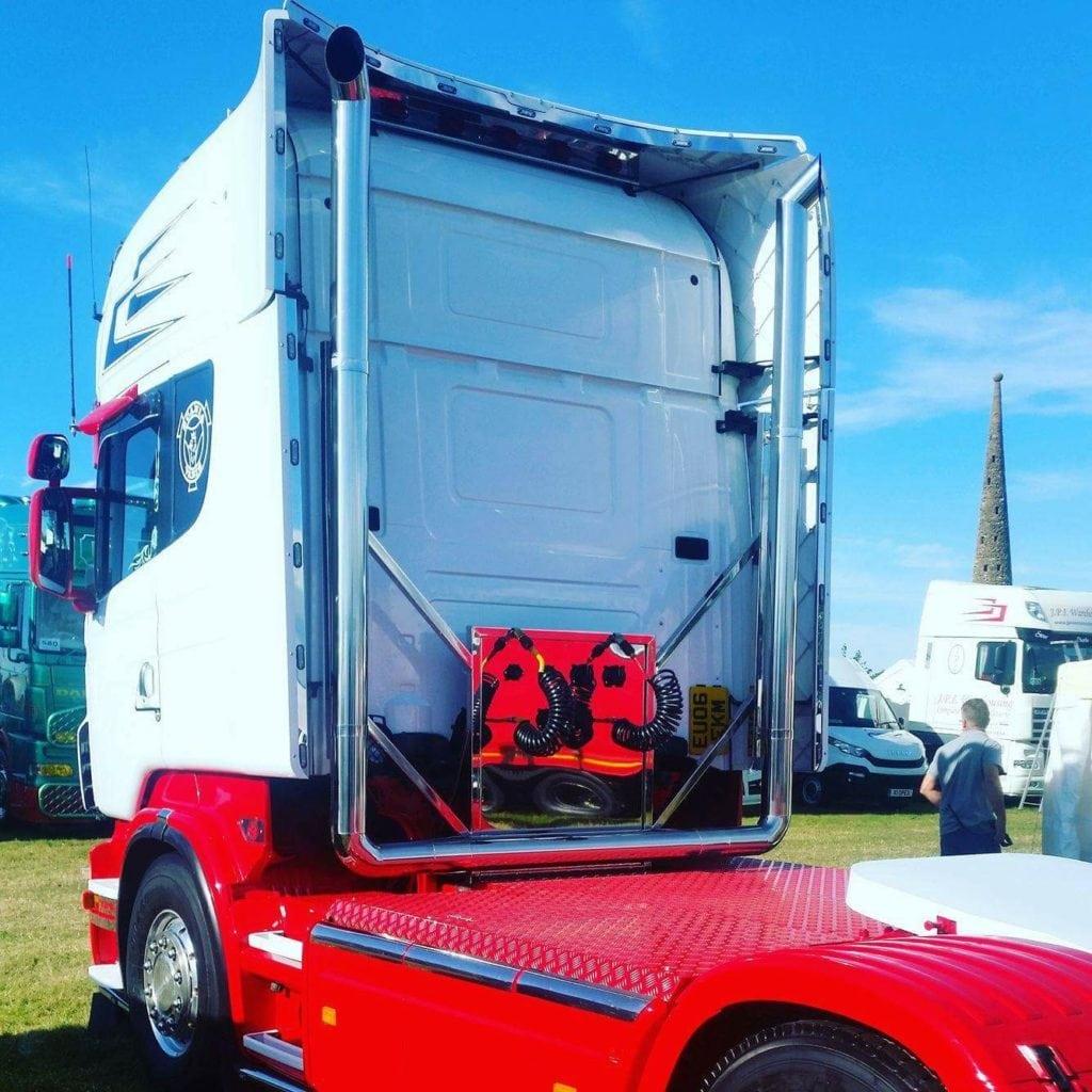 Scania Bespoke Exhaust