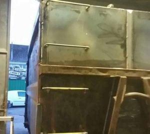 After Bin Repairs in Glastonbury