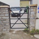 Custom Fabricated Gate Somerset