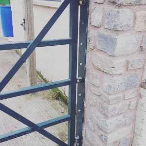 Custom Fabricated Gate Somerset SAS Welding Services