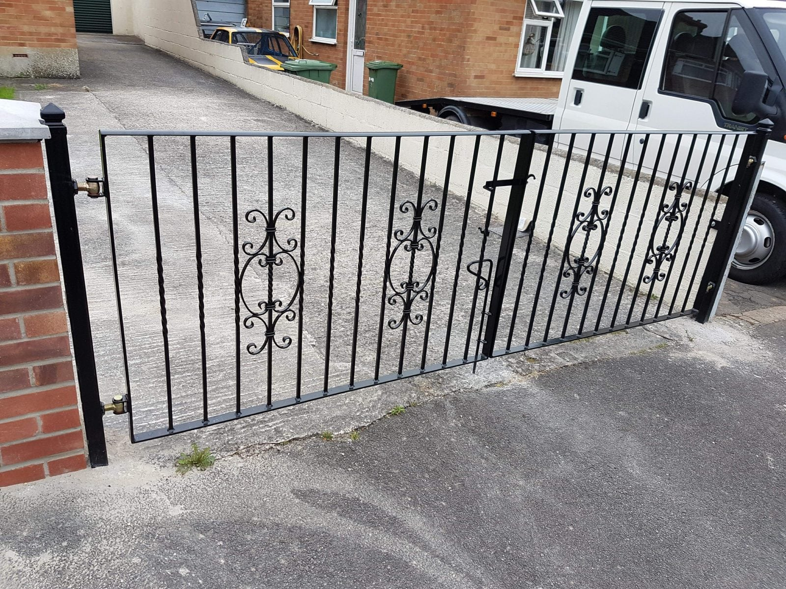 Custom Fabricated Gates Somerset