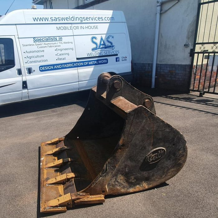 digger bucket repairs glastonbury, somerset