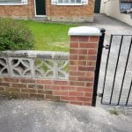 gates fabricated installed street somerset