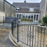 gates and railings in west pennard, somerset