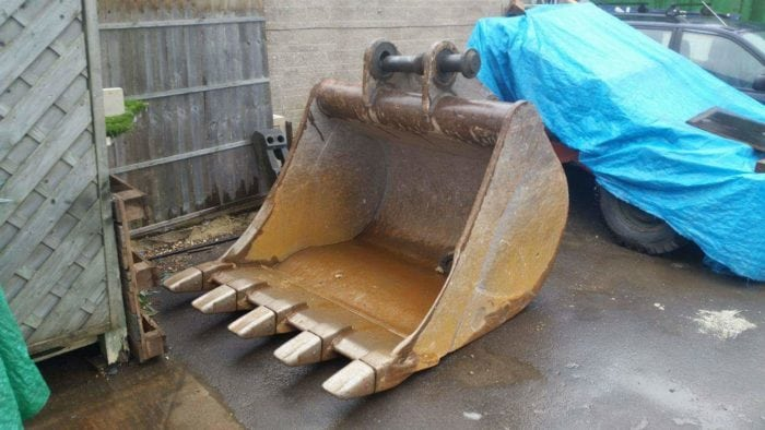 Heavy Plant Machinery Digger Bucket