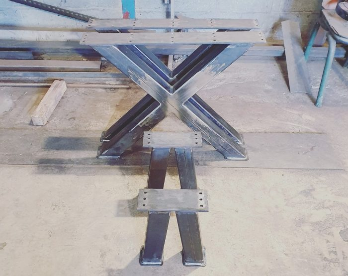 fabricated kitchen table and stool legs glastonbury