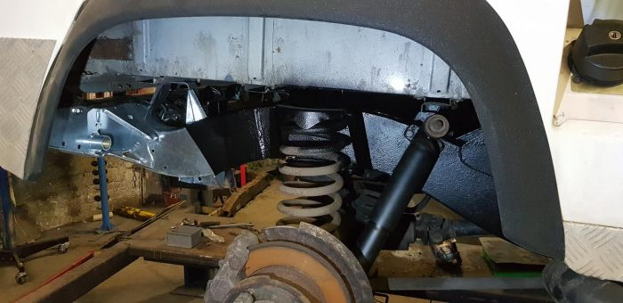 Land Rover Defender 90 repairs Glastonbury