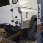 land rover defender 110 repairs somerset