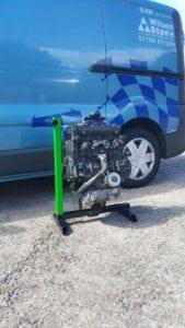 racing engine stand