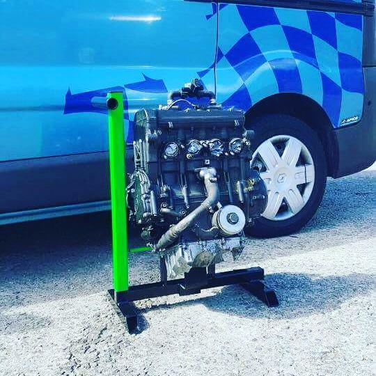 racing engine stand
