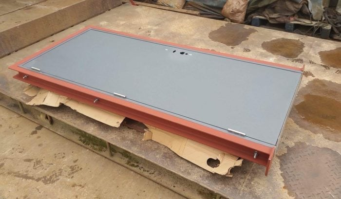 Custom Fabrication Security Door