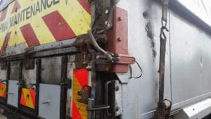 MIG welded lorry repairs
