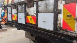 Lorry after MIG welder repairs