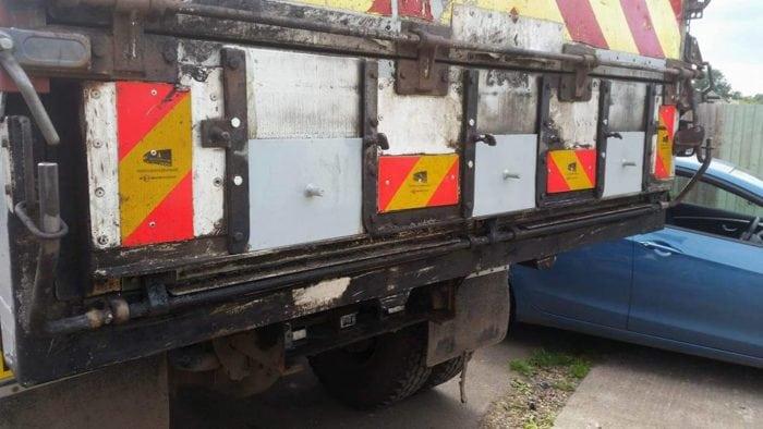 MIG Welded Lorry Repairs