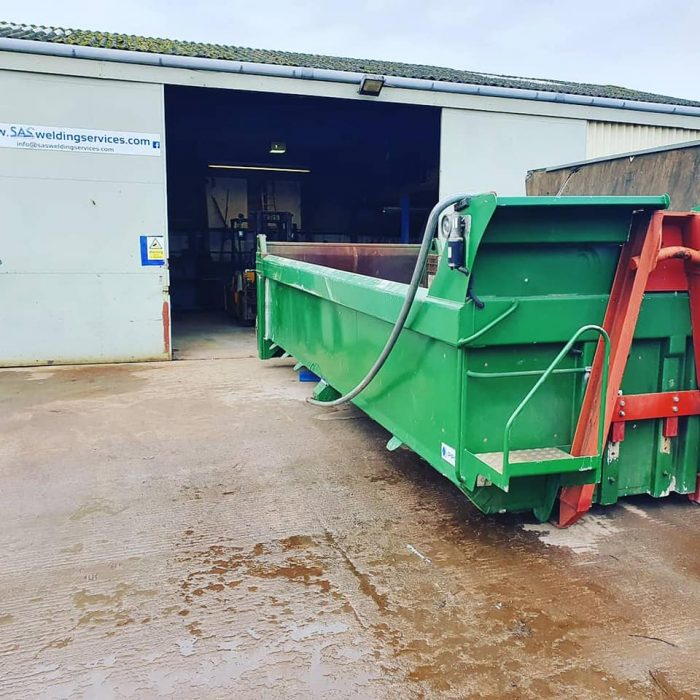 MIG Welding Tipper Body glastonbury somerset