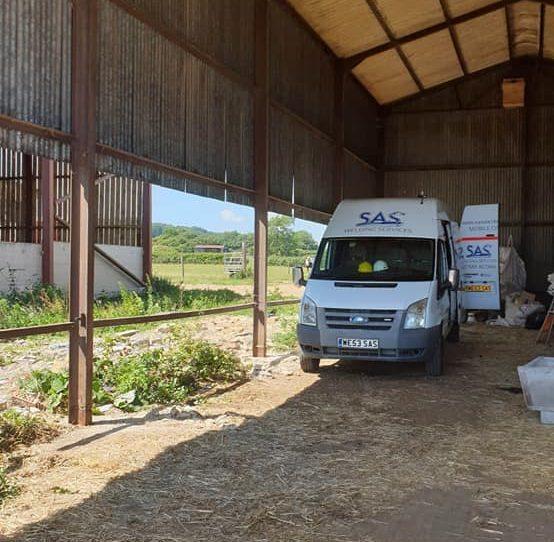 SAS Mobile Welder Van