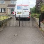Mobile Welding van fixing gates
