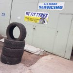 SAS Tyre Fitting Service in Glastonbury, Somerset