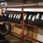 Sam at SAS, Tyre Fitting in Glastonbury, Somerset