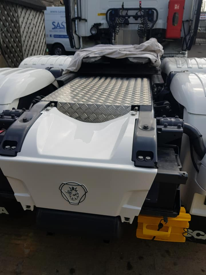 Scania 738 V8 Chassis Infill Somerset