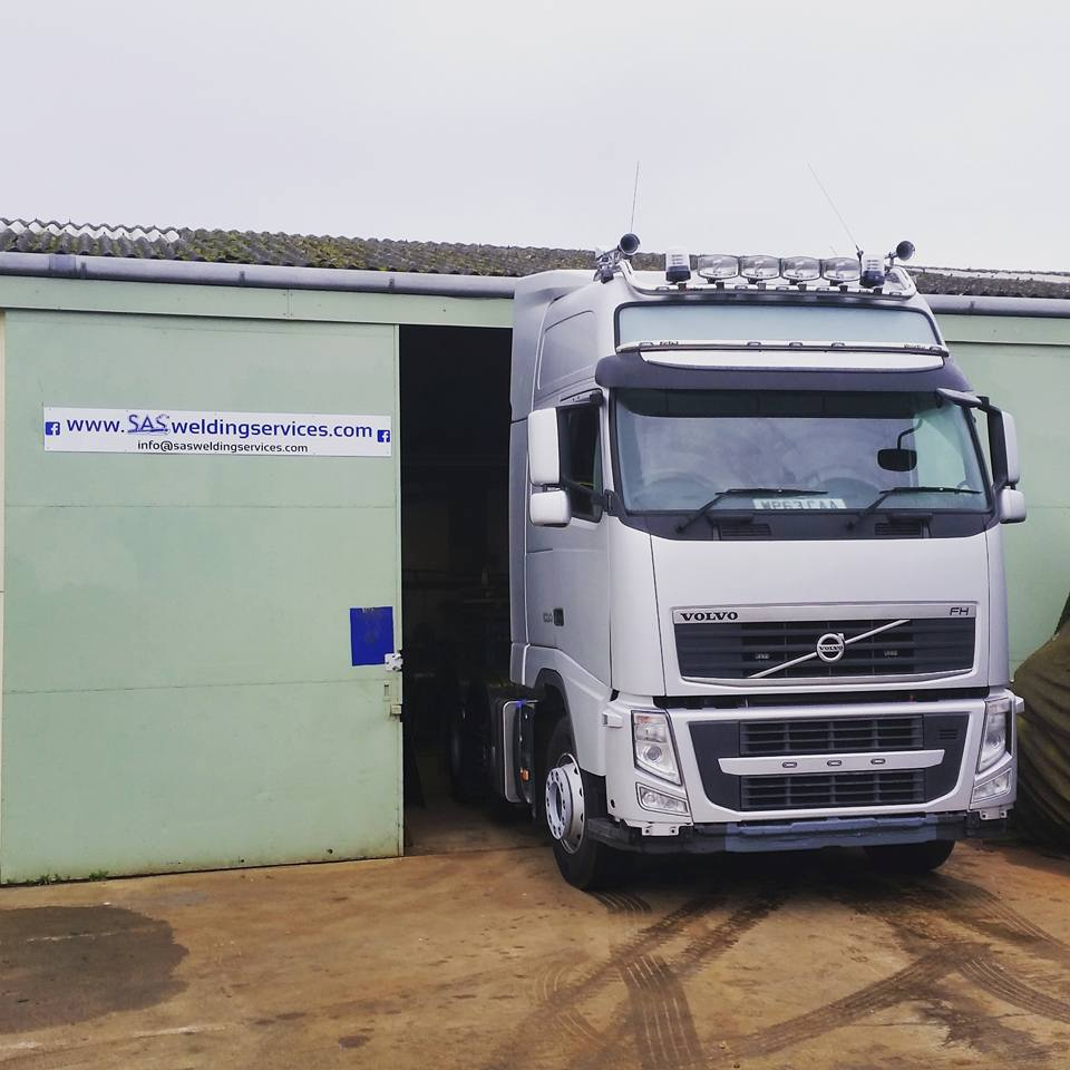 Volvo FH at SAS Welding Services Glastonbury Somerset