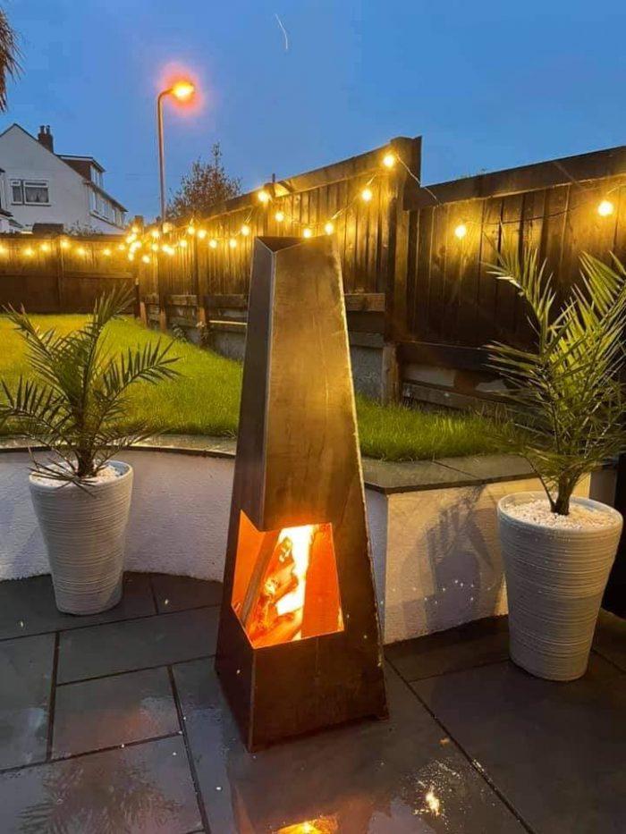 garden wood burner glastonbury