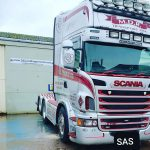 Scania V8 Welding Repairs at SAS Welding Services in Glastonbury