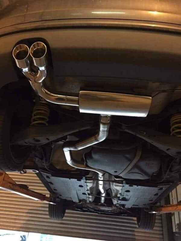 stainless steel car exhaust system