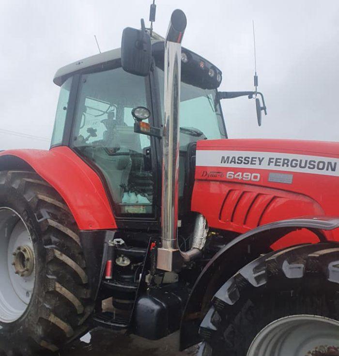 custom tractor exhaust glastonbury, somerset