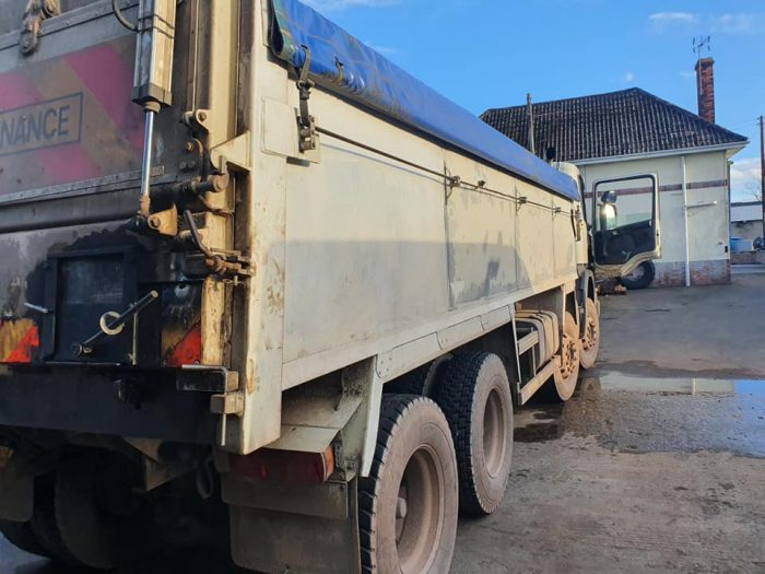 tipper lorry aluminium welding repairs