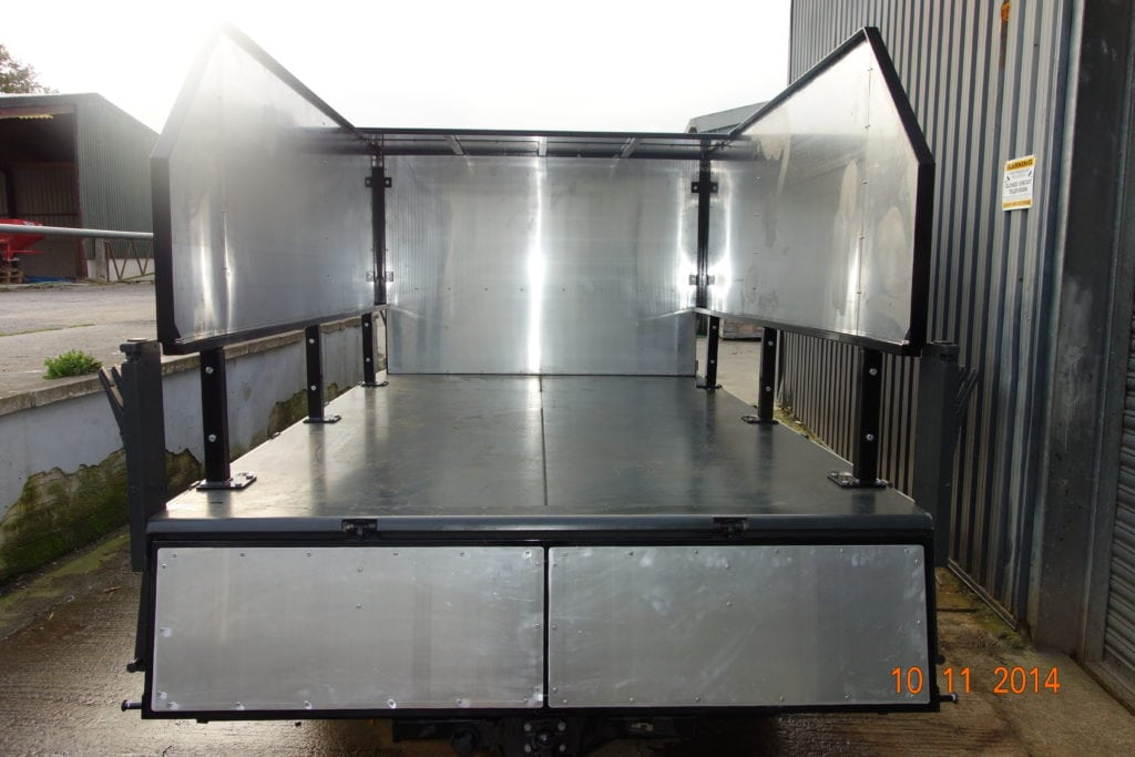 commercial body building fabrication