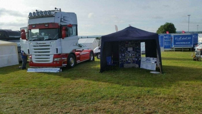 Truck Fabricators at Wessex Truck Show