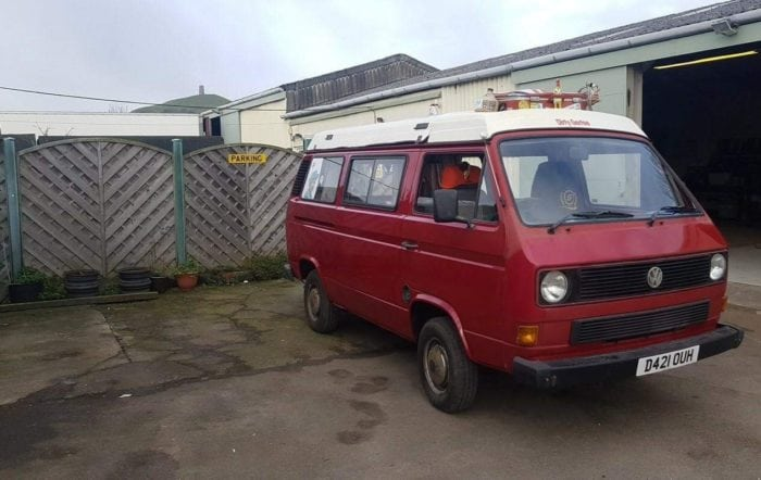 VW T25 Camper Restoration Glastonbury, Somerset