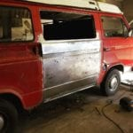 VW T25 Camper Restoration Glastonbury