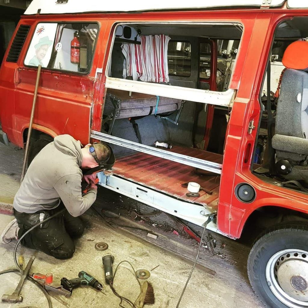 VW T25 Vehicle Restoration Glastonbury, Somerset