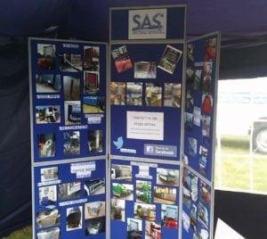 SAS Wessex Truck Show Stand